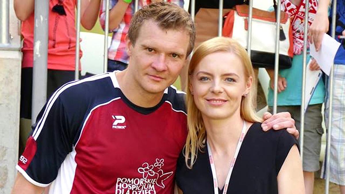 Dawid Nilsson bodde tillsammans med sin fru Agata i Skövde år 2001-2005. Foto: privat