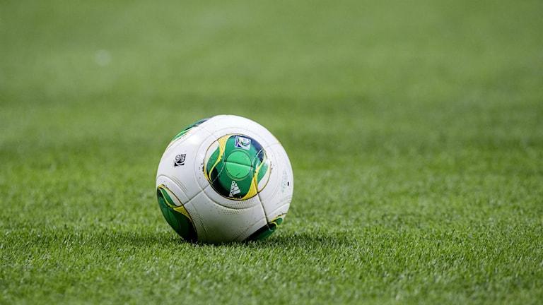 En fotboll. Foto: Christine Olsson/TT