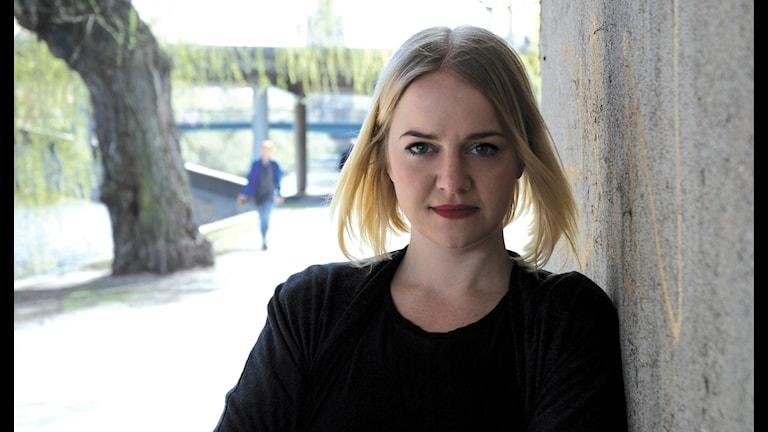 Hanna Cederin. Foto: Ung Vänster pressbild