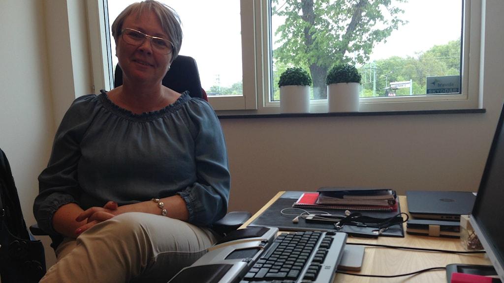 Petra Hernant, personlig handläggare på Försäkringskassan