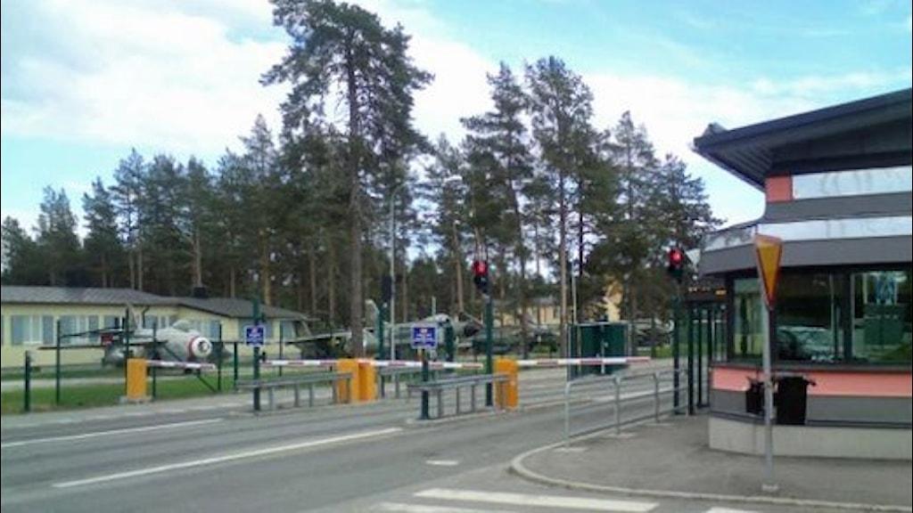 Norrbottens flygflottilj, F21 i Luleå. Foto: Reine Sundkvist/Sveriges Radio.