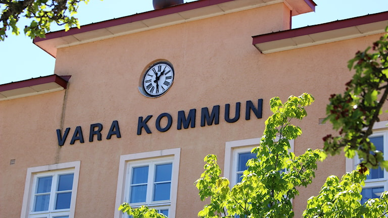 Vara Vara kommun kommunhus Foto: Niklas Svahn/Sveriges Radio