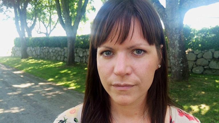 Gabriela Bosnjakovic (M), oppositionsråd Vara. Foto: Tomas Ek / Sveriges Radio