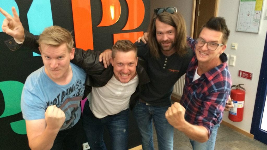 Världens bästa orkester tog guld på Revy-SM. Foto: Ewa Ohlsson / Sveriges Radio
