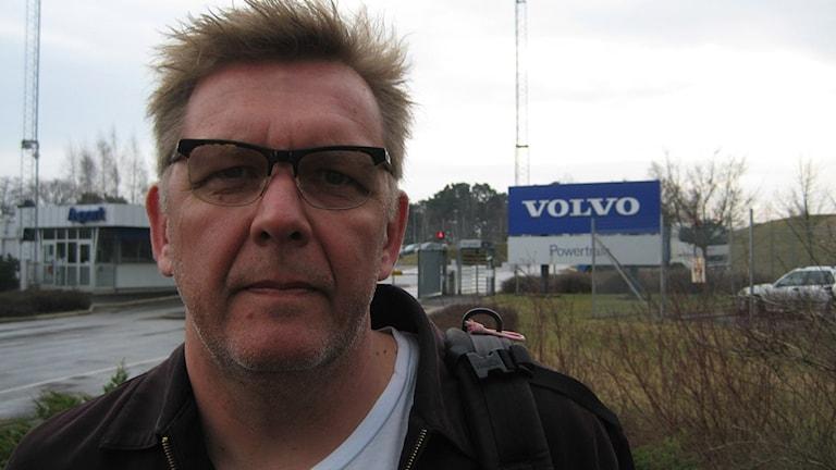 Lars Ask, ordförande i Volvos verkstadsklubb