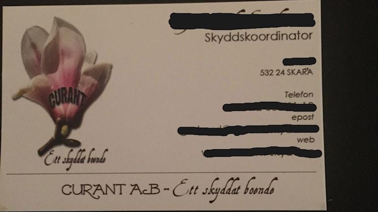 Curant AB Skara Stödboende
