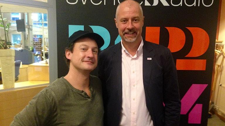 Chris Avellone och Per-Arne Lundberg