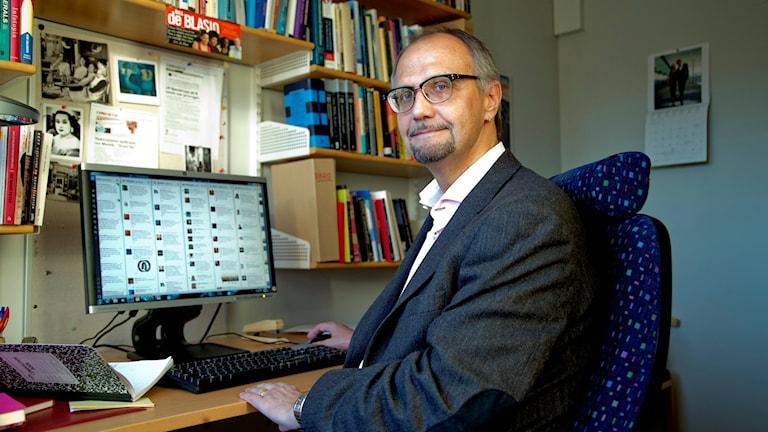 Ulf Bjereld, statsvetare. Foto: ADAM IHSE / TT