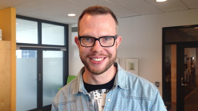 Erik Billing Forskare på Högskolan i Skövde. Foto: Linnéa Frimodig