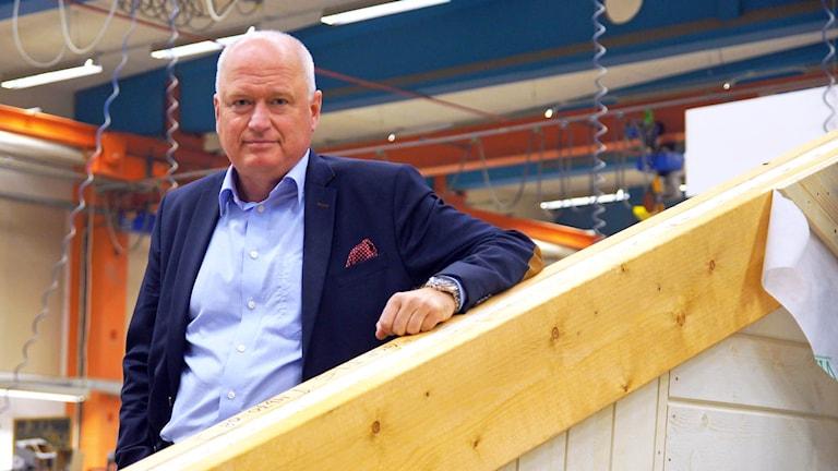 Claes Hansson, vd för Götenehus.