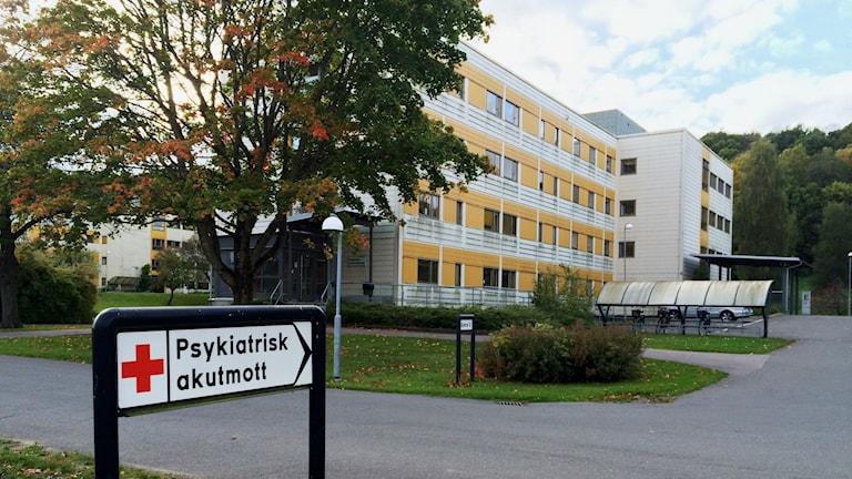 Psykakuten Falköping. Foto: Mats Öfwerström / Sveriges Radio