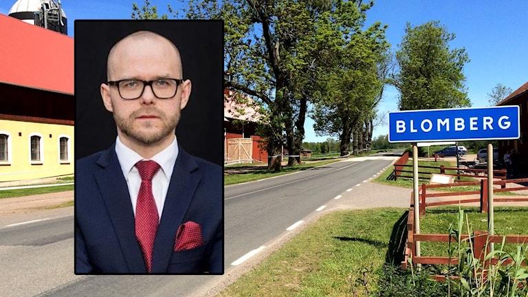 Advokat Thomas Håkansson är P4 Skaraborgs rättsexpert under rättegången mot Lisa Holms misstänkte mördare. Foto Christopher Johansson / Sveriges Radio / Hurtig & Partners