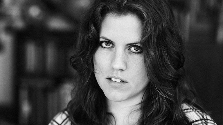 Kristin Lindström från Tibro, augustprisnominerad för sina illustrationer. Foto: privat