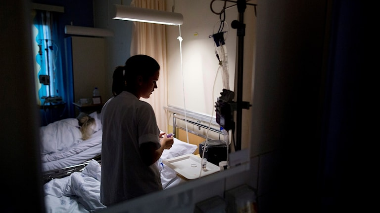 Sjuksköterskan Petra vill inte bli stämplad som bråkmakare. Bild: Tore Meek/TT