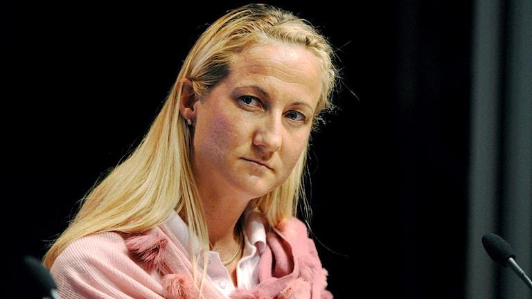 Cecilia Widegren ville dra av julfrimärke för 2100 kronor.