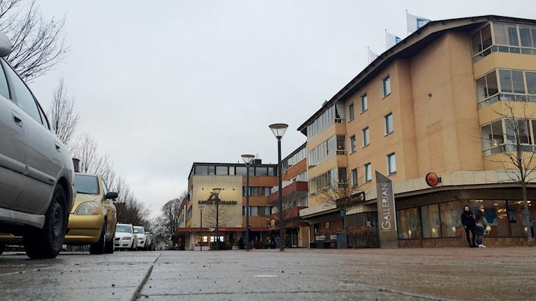 Tibro spås öka sin befolkning med 520 flyktingar fram till 2017. Foto: Mats Öfwerström / Sveriges Radio