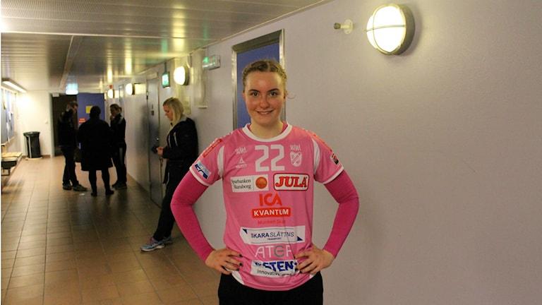 Wilma Andersson lämnar nu Skara HF och tar nästa kliv i karriären.