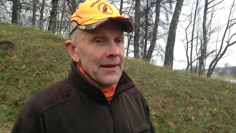 Åke Johansson, jägare i Skövde. Foto: Jenny Josefsson P4 Skaraborg Sveriges Radio