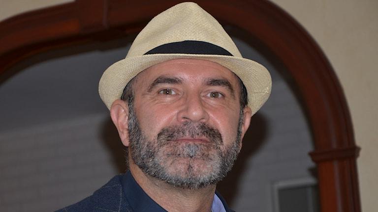 Mirsad Besovic från Spektrum kulturförening. Foto: Privat