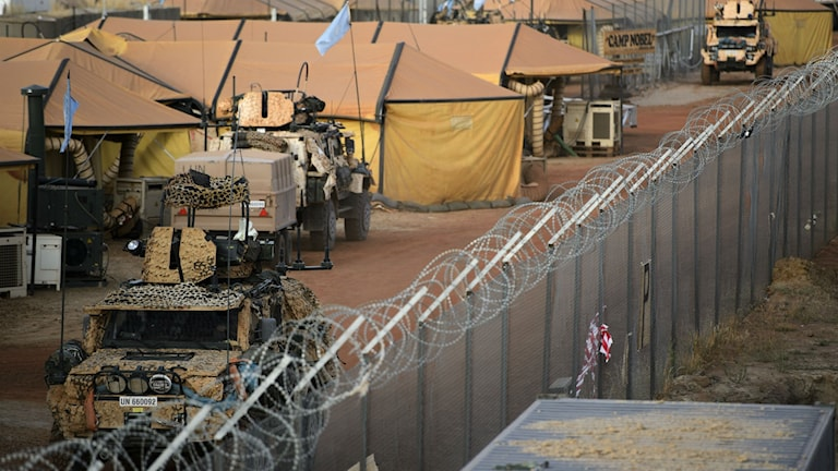 Camp Nobel i Mali. Foto: Henrik Montgomery/TT