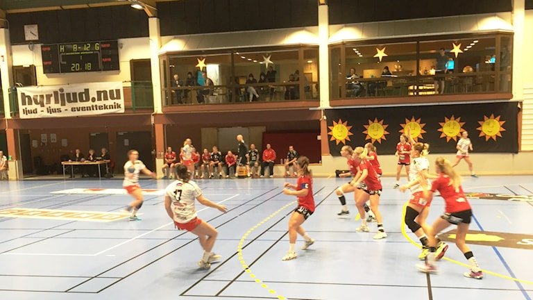 Skövde HF vann klart mot IF Hellton. Foto:Magnus Skoglund