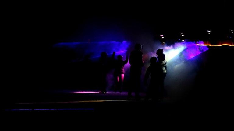 Ifjol dansade närmare 250 skridskoåkare loss på discot på Otterstrand i Otterbäcken. Foto: Olivia Wallgren