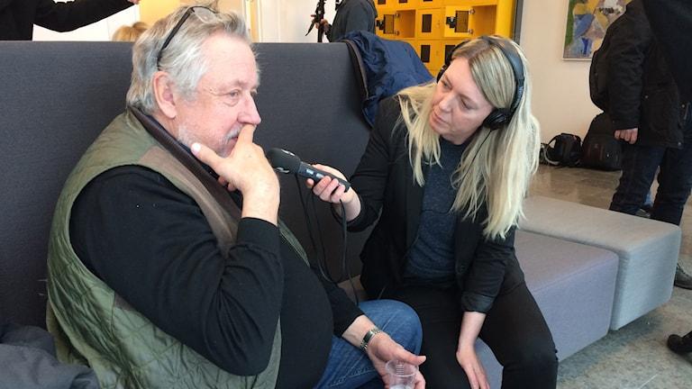 Leif GW Persson. Foto: Mats Öfwerström/Sveriges Radio