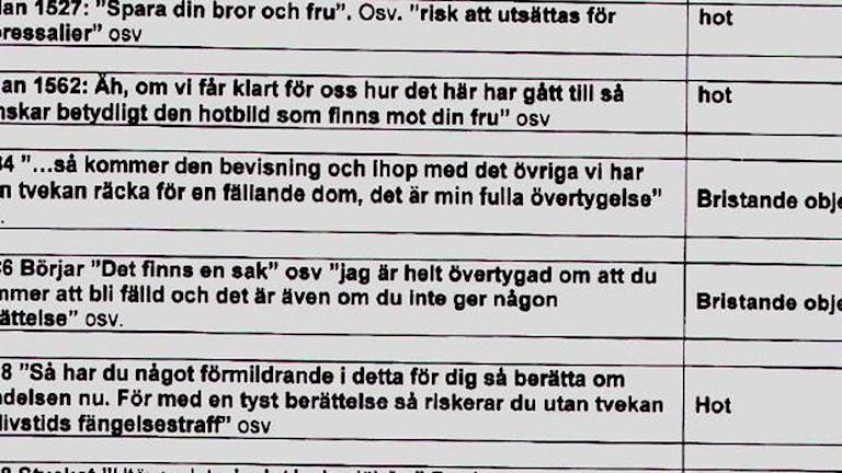 Bild: Pål Johanssons utlåtande