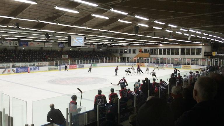 Mariestad BoIS föll för andra gången den här säsongen mot Östersund. Arkvifoto Torbjörn Nilsson/Sveriges Radio.