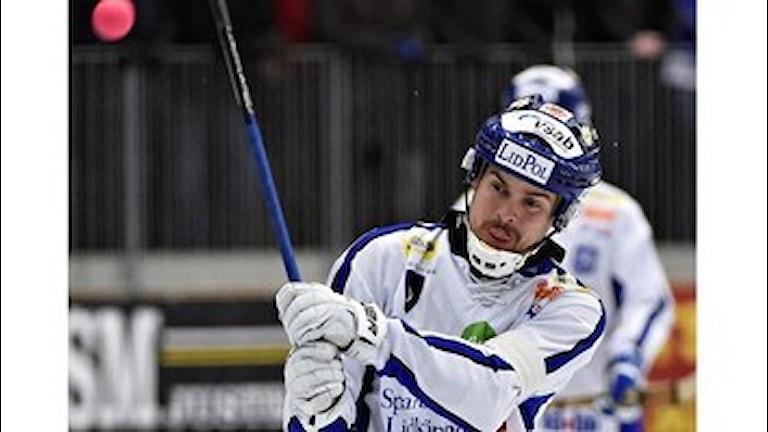 Martin Johansson i Villa Lidköping. Foto:Team Sören/Fabbe.