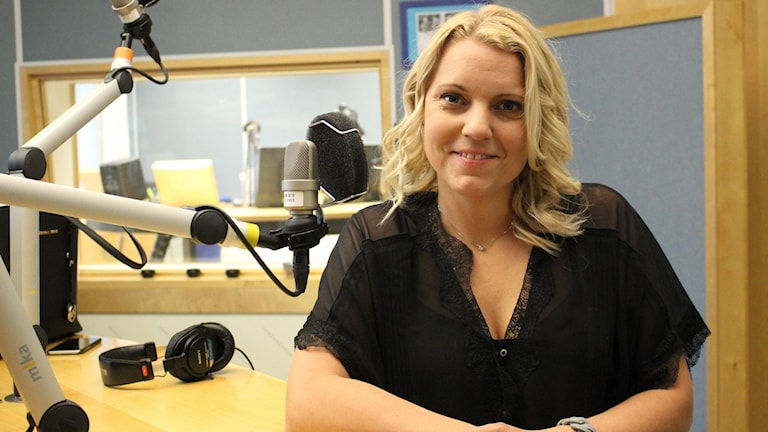 Carina Bergfeldt. Bild Malin G Pettersson/Sveriges Radio