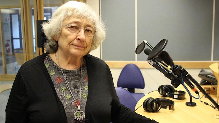 Susanna Christensen. Foto: Malin G Pettersson/Sveriges Radio