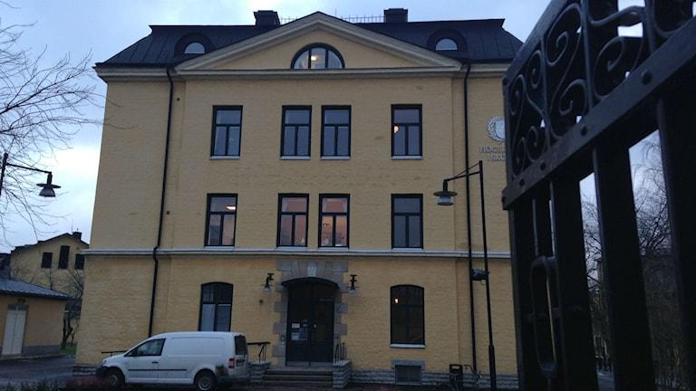 Högskolan i Skövde Foto: Jenny Josefsson P4 Skaraborg Sveriges Radio