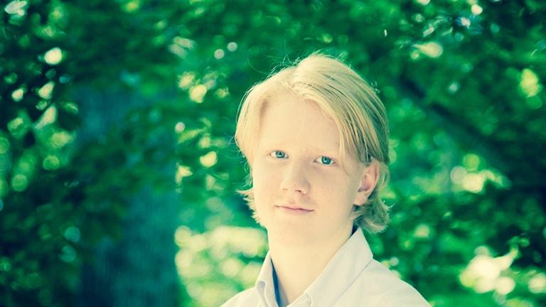 Hockeyspelaren Rasmus Dahlin. Foto: Privat