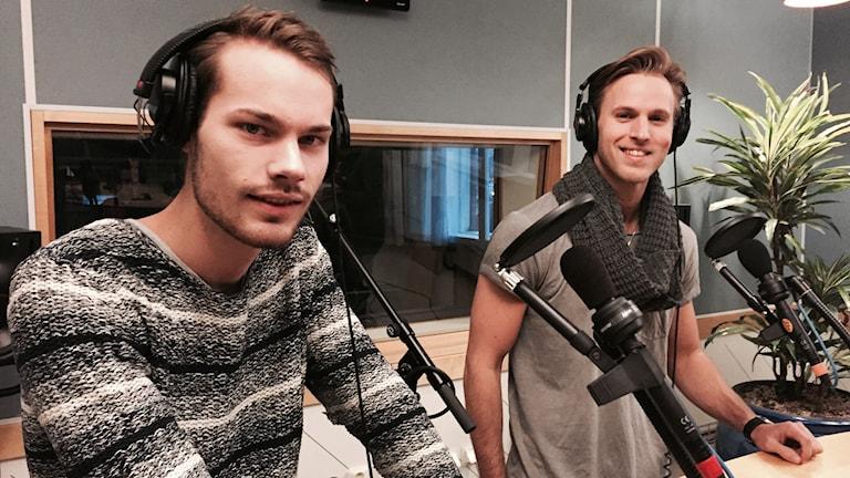 Nasco Brothers Markus Håkansson och Emil Johansson. Foto: Malin G Pettersson/Sveriges Radio