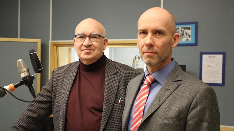 Tore Brandtler, Lars-Göran Wennerholm. Foto: Malin G Pettersson
