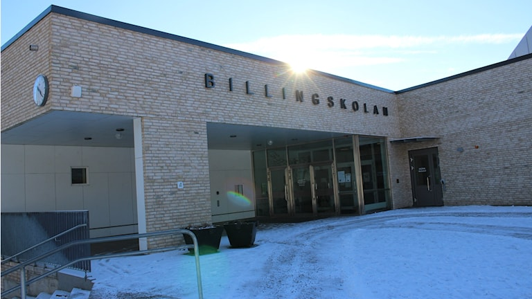 Billingskolan i Skövde.