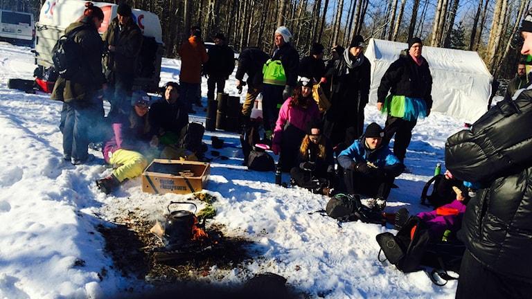 Vinterskogslägret i Lerdala
