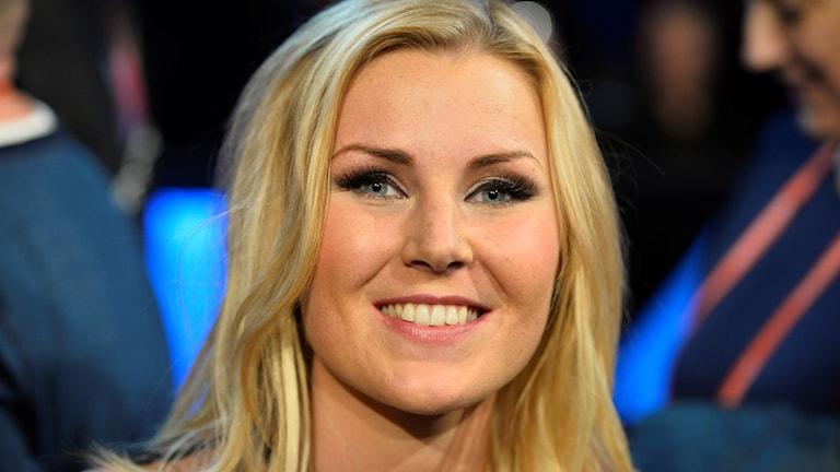 En närbild på Elisa Lindströms ansikte.