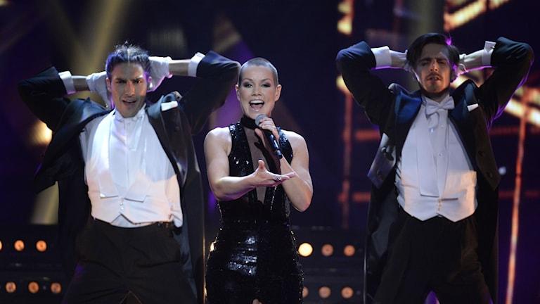 Linda Bengtzing i Melodifestivalen