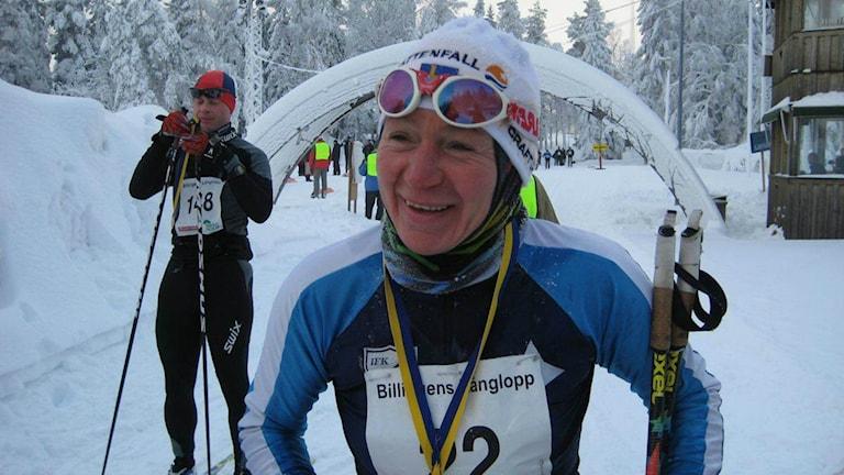 Nu på söndag åker Lubov Pospeshina sitt 26:e Vasalopp