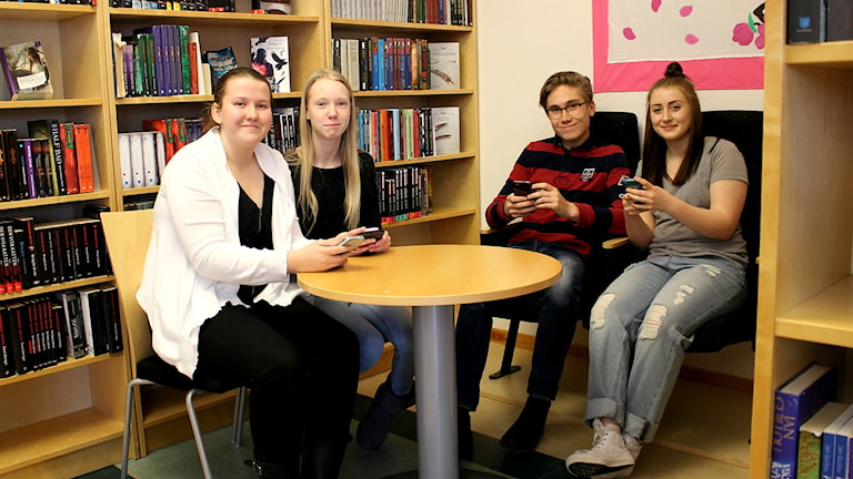 Mathilda, Tuva, Ludwig och Matilda.