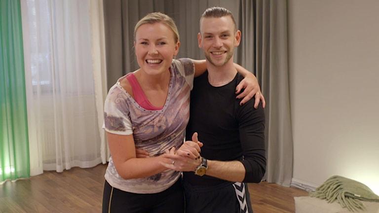 Elisa Lindström från Töreboda ska dansa tillsammans med Yvo Eussen i Tv 4:s Let´s Dance.