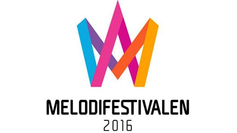 Melodifestivalens logga 2016