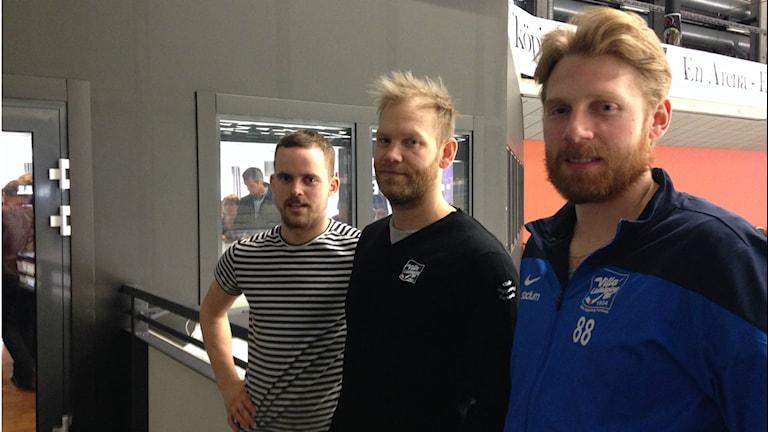 Martin Johansson Johan Esplund Jesper Thimfors