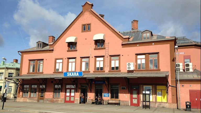 Skara station busstation
