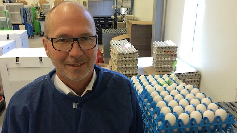 Håkan Persson är vd för Svenska Lantägg.