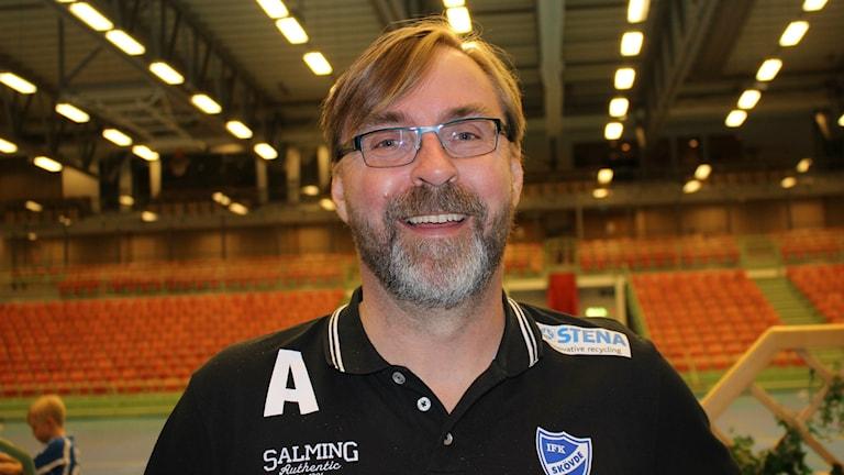 Patrik Liljestrand klar för två säsonger till. Foto Tommy Järlström P4 Sveriges Radio.