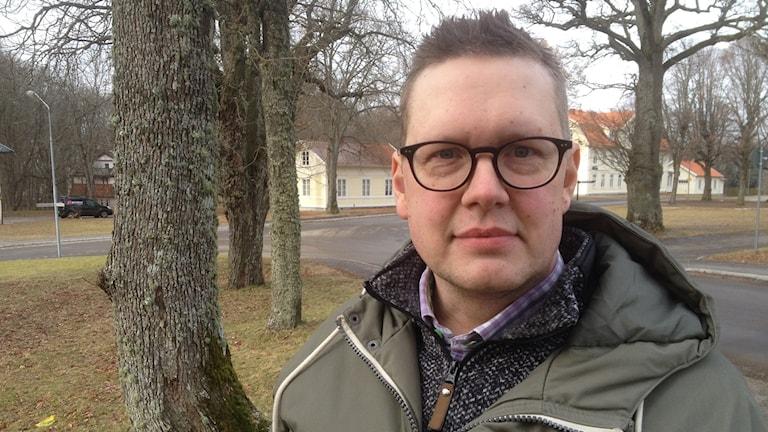 David Albinsson, skaparen av Facebookgruppen Välkommen till Lundsbrunn.