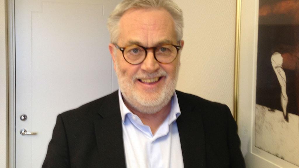 Kjell-Ove Karlsson, personalchef i Skara kommun. Foto: Jenny Josefsson P4 Skaraborg Sveriges Radio